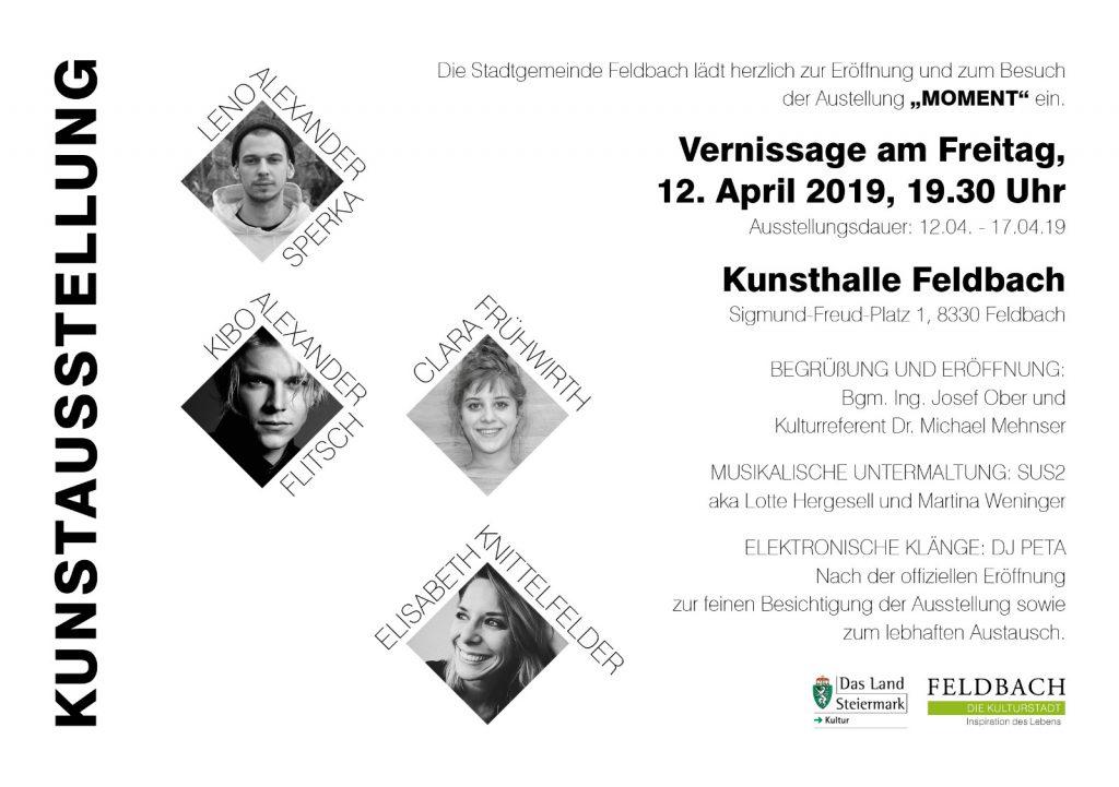 Exhibition /'MOMENT'/ Kunsthalle Feldbach, Styria, Austria